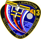 STICKER ISS Expedition  13