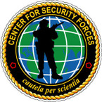 STICKER GOV CENTER FOR SECURITY FORCES B