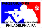 STICKER CIVIL PANZERHUND K9 PA