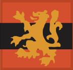 STICKER British SSI - Scottish Command