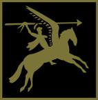 STICKER British SSI - Great Britain - 1st Airborne Division - Subdued