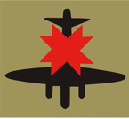 STICKER British SSI - 8th Anti-Aircraft Division