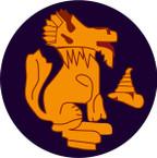 STICKER British SSI - 3rd Indian Division (Chindits)