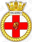STICKER British Navy HMS King George V (41)