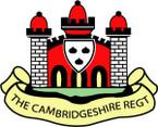 Sticker British Crest - The Cambridgeshire Regiment