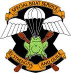 STICKER British Crest - Special Boat Sqn 1