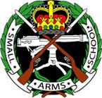 STICKER British Crest - Small-Arms School 1