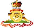 STICKER British Crest - Royal Artillery - 1