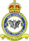 Sticker British Crest - RAF - 9 Squadron