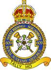 STICKER British Crest - RAF - 609 Squadron