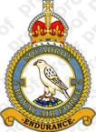 STICKER British Crest RAF 120 Squadron