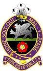 STICKER British Crest - Princess o fWales Own Royal Regiment - 1