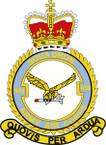 STICKER British Crest - 659 SQN - Army Air Corps (AAC)