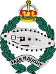 STICKER British Crest - 1st Royal Tank Regiment