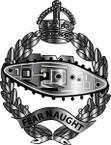 STICKER British Collar Badge - Royal Tank Regiment