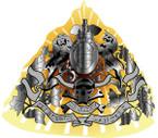 STICKER British Cap Plate - Cambridges Own - Lancers Officer