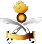 STICKER British Cap Badge - Royal Gurkha Engineer