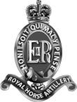 STICKER British Cap Badge - Great Britain - Royal Horse Artillery