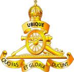 STICKER British Cap Badge - Great Britain - Royal Artillery