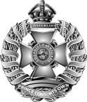 STICKER British Cap Badge - Great Britain - Rifle Brigade
