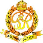 STICKER British Cap Badge - Great Britain - Military Police