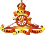 STICKER British Cap Badge - Great Britain - Honourable Artillery Company