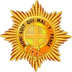 STICKER British Cap Badge - Coldstream Guards