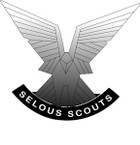 STICKER British Badge - Selous Scouts