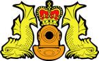 STICKER British Badge - Royal Navy Dive Crest