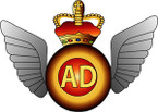 STICKER British Badge - Air Dispatch Wing - Mess Dress