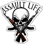 STICKER ATTITUDE ASSAULT LIFE AK