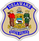 STICKER  DELAWARE STATE POLICE