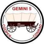 STICKER NASA GEMINI 5 PROGRAM