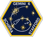 STICKER NASA GEMINI 6 PROGRAM