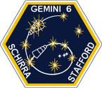 STICKER NASA GEMINI 6 PROGRAM