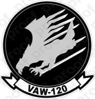 STICKER USN VAW 120 Grey Hawks