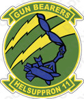 STICKER USN HC 11 Gun Bearers