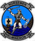 STICKER USN HM 18 Norsemen