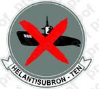 STICKER USN HS 10 HELANTSUBRON