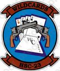 STICKER USN HSC 23 WILDCARDS