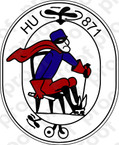 STICKER USN HU 871 Helicopter Utility Squadron