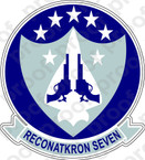 STICKER USN RVAH 7 Peacemakers of the Fleet