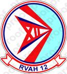 STICKER USN RVAH 12 Speartips