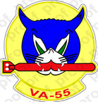 STICKER USN VA 55 Torpcats