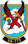 STICKER USN VA 175 Devils Diplomants