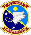 STICKER USN HS 2 FLEET ANGELS