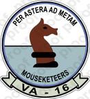 STICKER USN VA 16 Mouseketeers