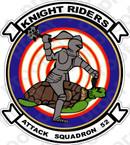 STICKER USN VA 52 Knight Riders