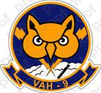 STICKER USN VAH 9 Hoot Owls