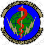 STICKER USAF 439th AEROSPACE MEDICINE A